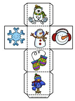 Snow Buddies Winter Data Management Game in French