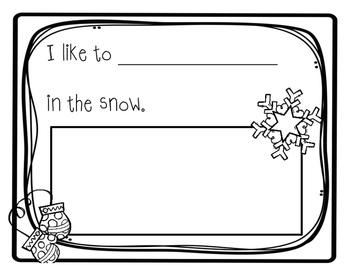 Snow Bulletin Board Kit