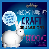 Snow Bunny Rabbit Arctic Hare Craft