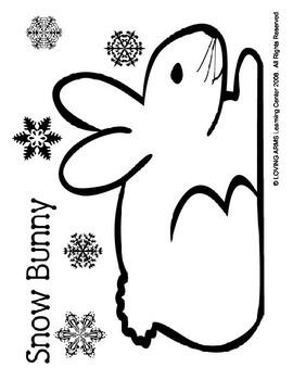 Snow Bunny Template