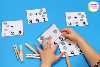 Snow Centers and Activities for Pre-K/Kindergarten