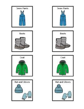 Snow Clothing Visual