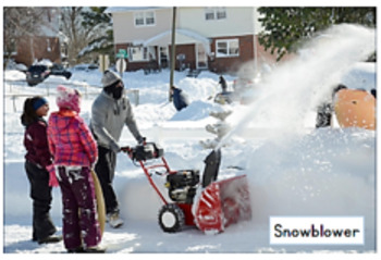 Snow Compound Words/ PPT with 46 Photos