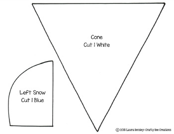 Snow Cone Cut and Paste