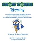 Snow Cone Rhyming