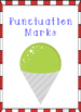 Snow Cone Themed - Punctuation Posters
