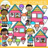 Snow Cones Clip Art