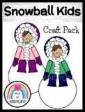 Snowy Eskimo Kids Craft (Winter, Arctic)