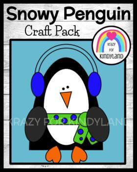 Winter Craft: Snowy Penguin