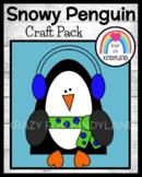 Snowy Penguin Craft (Winter, Arctic)