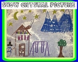 Snow Crystal Picture Art Project