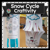 Snow Cycle, Snowflake Cycle Mobile Craftivity
