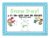 Snow Day! A Winter Second 100 Fry Sight Word Game and Activities