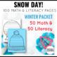Snow Day! Winter Printables