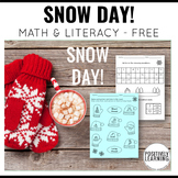 Snow Day Packet Free