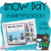 Snow Day! Adapted Books (Winter)