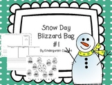 Snow Day Blizzard Bag #1