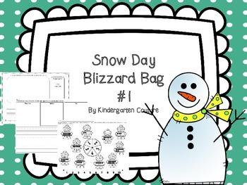 Snow Day Blizzard Bag #1