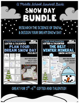 Snow Day: Research + Project