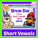 Snow Day: CVC & Short Vowels Game