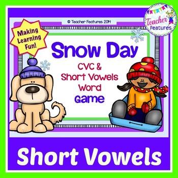 Snow Day: CVC & Short Vowels Game