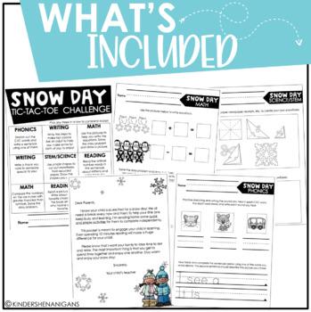 Snow Day Challenge