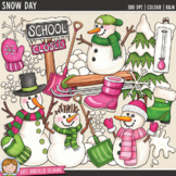 Snow Day Winter Clip Art