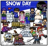 Snow Day Clip Art Bundle {Educlips Clipart}