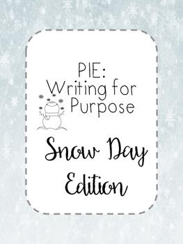 Snow Day Creative Write - Purpose