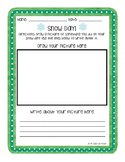Snow Day Drawing & Writing (English & Spanish) FREEBIE