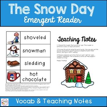 Snow Day- Emergent Reader
