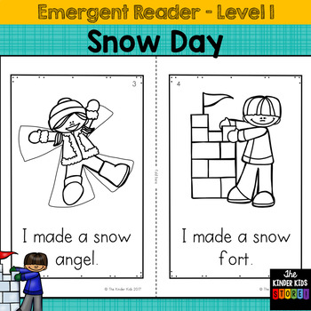 Snow Day Emergent Reader