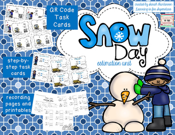 Snow Day! - Estimate to Add and Subtract