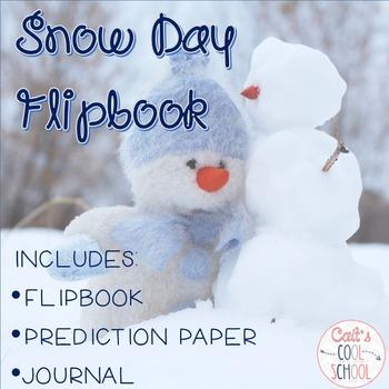 Snow Day Flipbook FREEBIE