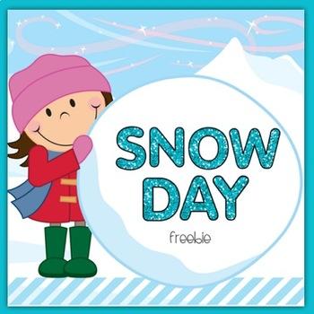 Snow Day Freebie!