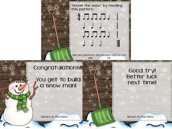 Snow Day Fun! {A Bundled Set for Rhythmic Practice}