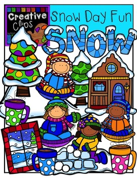 Snow Day Fun {Creative Clips Digital Clipart}