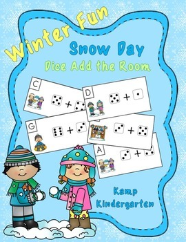 Snow Day Fun Winter Dice Add the Room