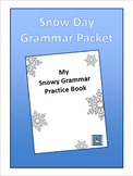 Snow Day Grammar Packet