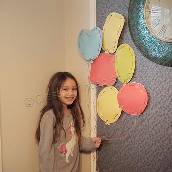 Snow Day, Indoor Recess Circus Theme balloon weaves printa