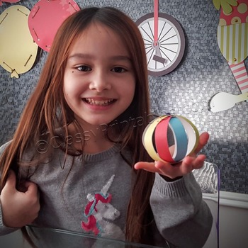 Snow Day, Indoor Recess Circus Theme Seal's ball paper craft activities