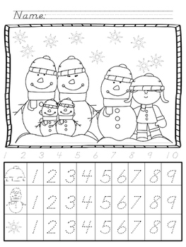 Snow Day Mega Math/Numbers Pack