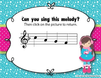 Snow Day Melodies! An Interactive Melodic Game to Practice Pentatonic Melodies