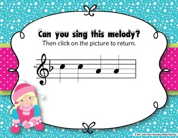 Snow Day Melodies! An Interactive Melodic Game to Practice So Mi