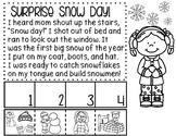 Snow Day Mini No-Prep Packet