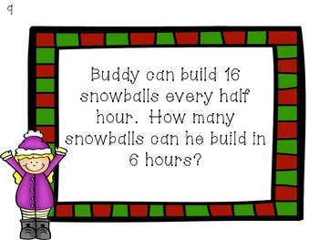 Snow Day Multiplication