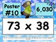 Snow Day Multiplication Scavenger Hunt - 4.NBT.5 - Around the Room