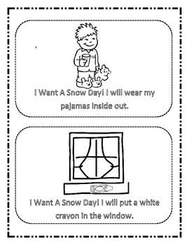 Snow Day Pack ; Fun Filled Literacy Activities