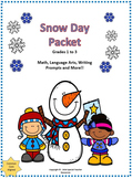 Snow Day Packet