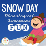 Snow Day Phonological Awareness Fun